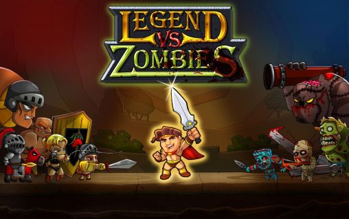 Legend vs. zombies Screenshot