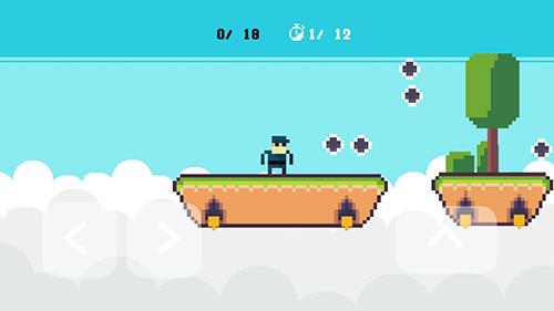 Arcade-Spiele Pixelman für das Smartphone