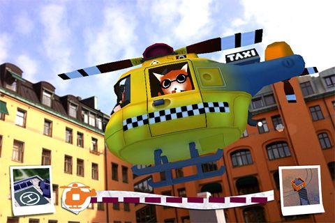Helikopter Taxi auf Deutsch