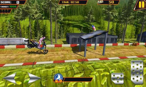 Stunt bike challenge 3D for Android