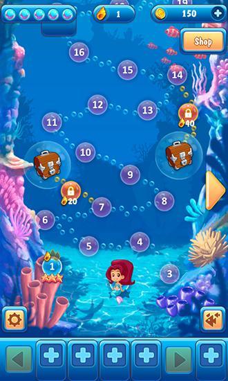 3 Gewinnt Mermaid: Puzzle auf Deutsch