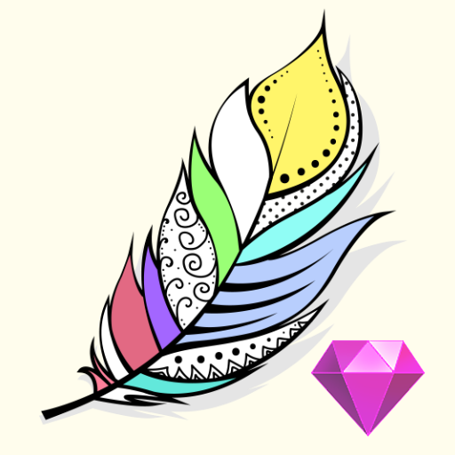 Coloring Diorama (Premium) : Color by Number icon
