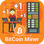 Bitcoin miner idle clicker tycoon icône