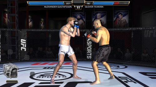 Fighting games: download EA sports: UFC to your phone