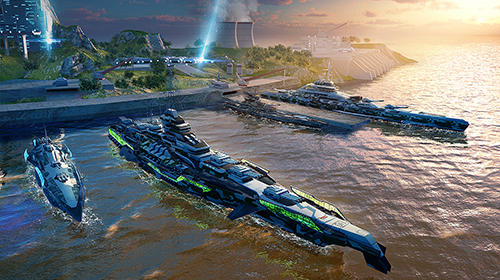 Pacific warships: Epic battle für Android