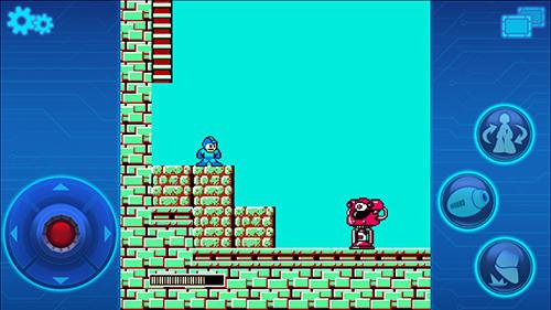 Pixelspiele Megaman mobile auf Deutsch