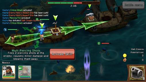 War pirates для Android