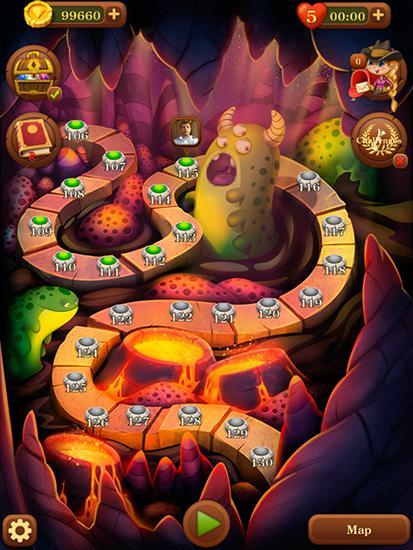 アンドロイド用ゲーム ジュエルズ:トゥ・ザ・センター・オブ・アース のスクリーンショット