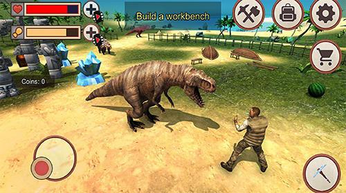 Dinosaurier Jurassic dino island survival 3D auf Deutsch