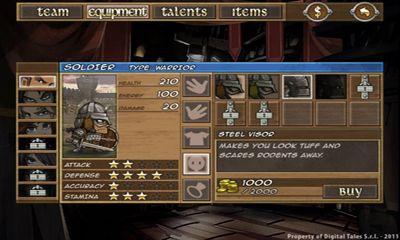 RPG Battleloot Adventure für das Smartphone