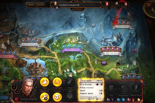 Brettspiele Der Hexer: Adventure Game auf Deutsch