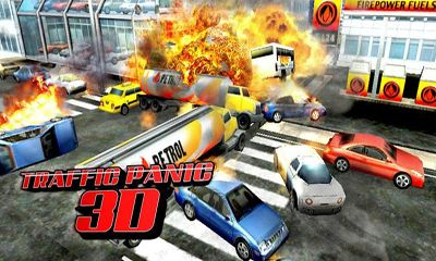 Traffic Panic 3D icône