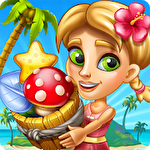 アイコン Tropic trouble: A match 3 adventure builder