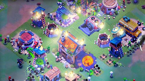 Strategie Survival city: Zombie base build and defend für das Smartphone