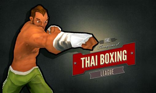 The champions of thai boxing league icon