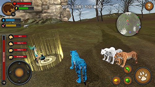 Tigers of the forest screenshot 1
