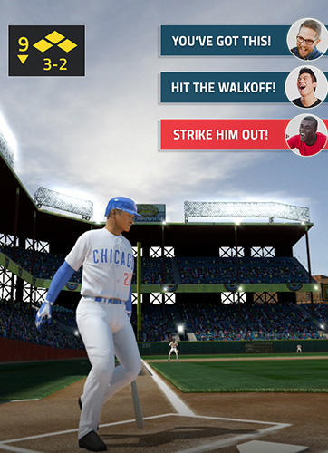 Ligue principale du baseball. Sport d'un contact: Baseball 2018 pour iPhone gratuitement