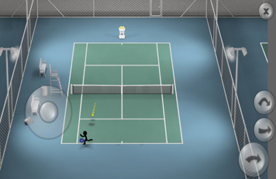 Simulator-Spiele: Lade Strichmännchen-Tennis auf dein Handy herunter