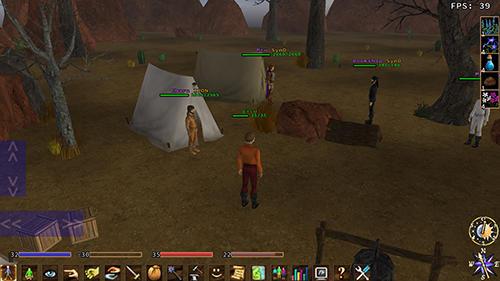 RPG Eternal lands for smartphone