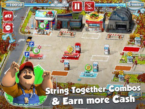Simulator-Spiele: Lade Tankstelle - Berufsverkehr! auf dein Handy herunter