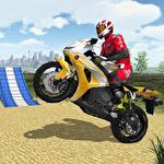 Extreme bike simulator Symbol