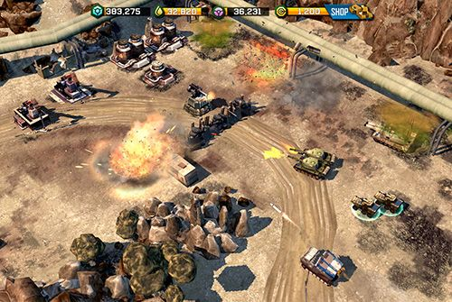 Screenshot War Commander: Rogue Assault auf dem iPhone