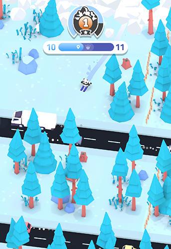 Snowboard-Spiele Mountain madness auf Deutsch
