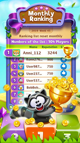 Bling crush: Match 3 puzzle game Screenshot