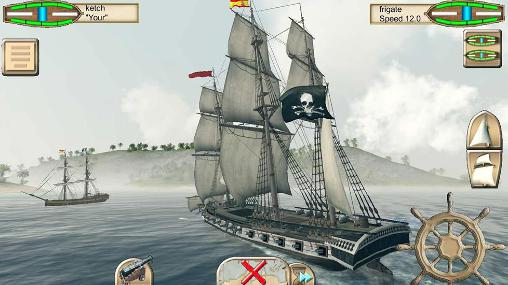 The pirate: Caribbean hunt для Android