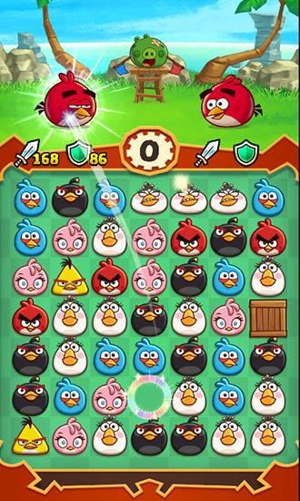 Angry birds: Fight! Screenshot