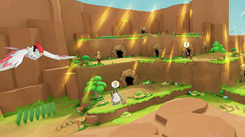 Cubemon 3D: MMORPG monster game pour Android