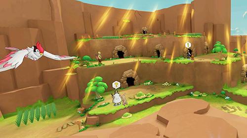 Cubemon 3D: MMORPG monster game para Android