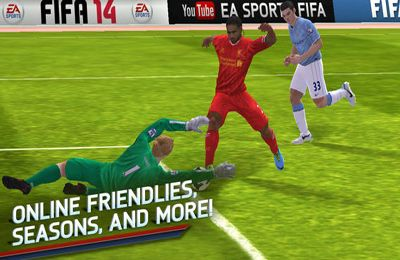 Screenshot FIFA 14 auf dem iPhone