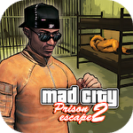 Prison escape 2: New jail. Mad city stories Symbol