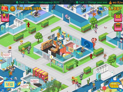 Strategiespiele Haywire hospital für das Smartphone