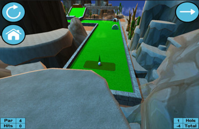 Simulation games: download Ultimate Mini Golf to your phone