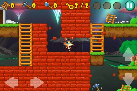 Arcade games: download Pirate cat to your phone