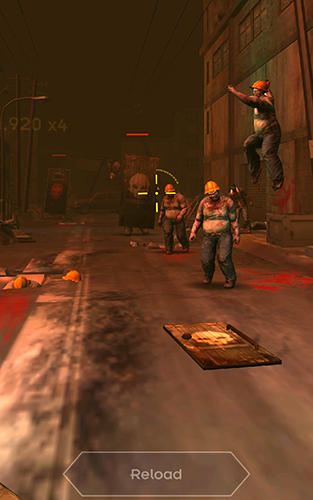 Dead city: Zombie shooting offline скриншот 3