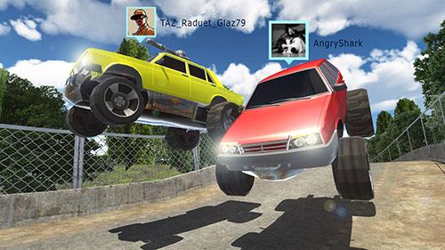 Battle cars online für Android