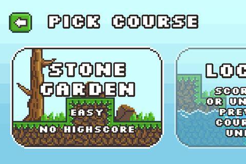 Arcade-Spiele: Lade Pixel Diskus Golf auf dein Handy herunter