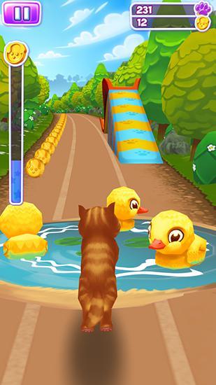 Arcade-Spiele Pet run für das Smartphone