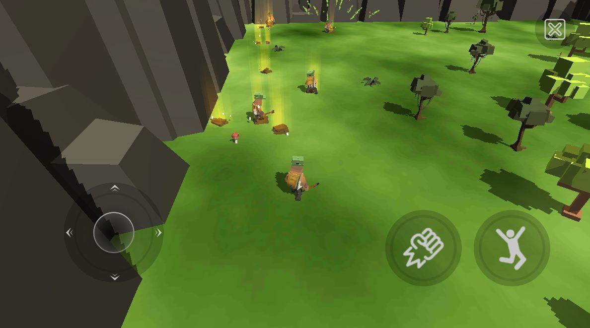 Super MoonBox 2 - Sandbox. Zombie Simulator. captura de tela 1