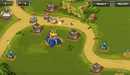 Tower defense: Kingdom wars captura de pantalla 1