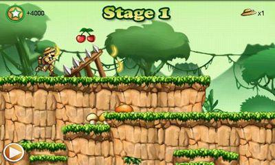 Arcade-Spiele Forest runner für das Smartphone