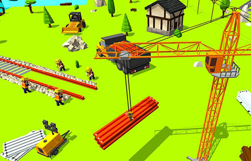 Construct railroad euro train para Android