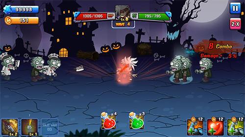 Zombie invasion für Android
