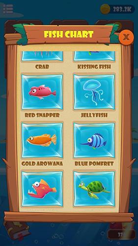Arcade-Spiele Fishing fantasy für das Smartphone