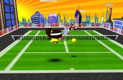 iPhone用ゲーム 早く早く!テニス のスクリーンショット