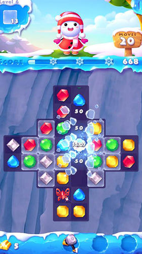 Ice crush 2: Winter surprise for Android