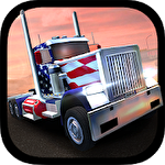 USA 3D truck simulator 2016 ícone